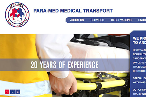 Paramed Website